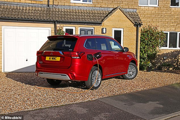 Mitsubishi's Outlander has been the best-selling PHEV for some years, though more rivals are coming to the market now