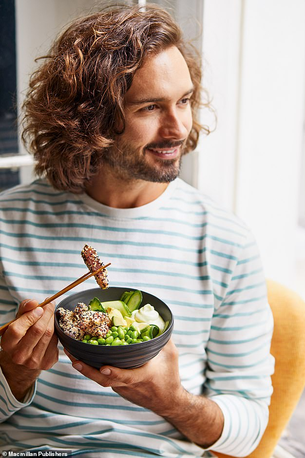 I'm urging you to eat three deliciously nourishing and filling meals a day. And if you're still hungry? You can indulge in two healthy snacks every day too, writes Joe Wicks