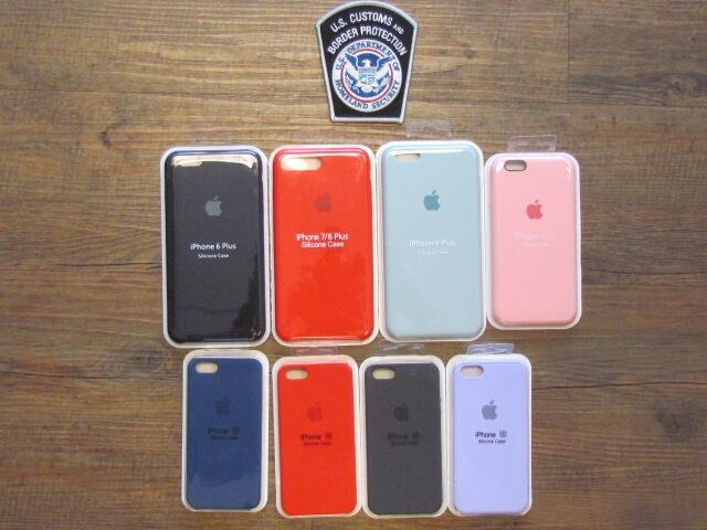 The Custom and Border Protection's recently seized iPhone cases