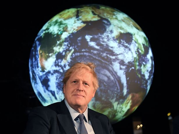 Boris Johnson said battling climate change was not about 'bunny hugging' in an address to a virtual climate summit