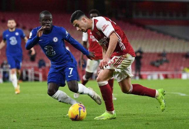 Gabriel Martinelli trolls N'Golo Kante on Instagram after Arsenal's win over Chelsea