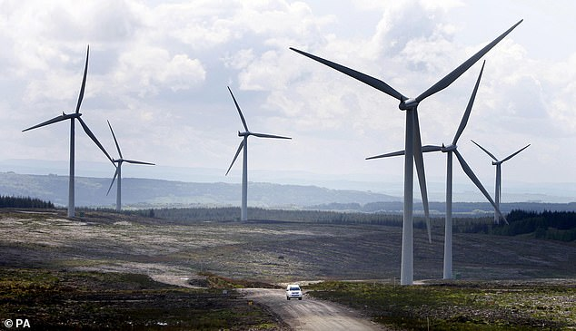 Storm Bella helped give Britain a record breaking day of wind power on Boxing Day