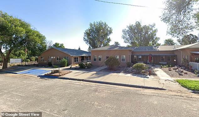 A second man in Colorado is suspected to have the new, more contagious variant of coronavirus. Both he and the first confirmed patient had worked at the Good Samaritan Society assisted living facility in Simla, Colorado (pictured)