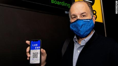CommonPass has partnered with several airlines to start rolling out its health credential app on select international flights.