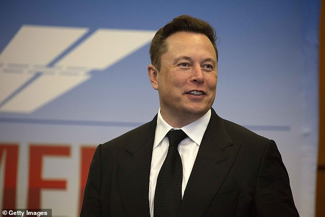 OneWeb faces stiff competition from Space X¿s Elon Musk (pictured) and Amazon's Jeff Bezos
