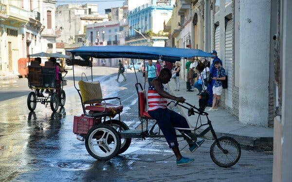 Havana in 2019. The Obama administration removed Cuba from its list of terrorism sponsors in 2015.