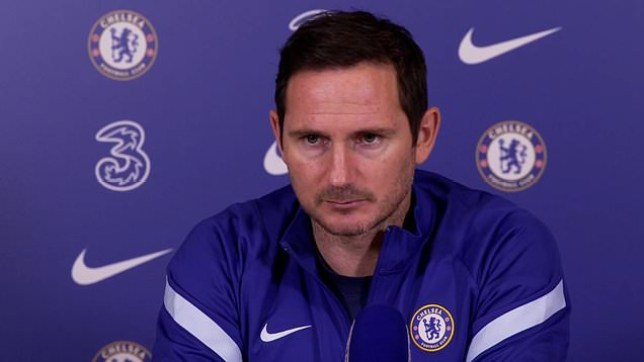 Frank Lampard responds to Chelsea sack rumours