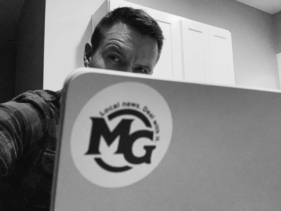 Ben Tierney, of Midland, revealed himself on Friday as the writer of the Midland Gazette Facebook page. The satirical news outlet has operating since October 2019. Photo: Photo Provided/Ben Tierney / Copyright 2021. All rights reserved.