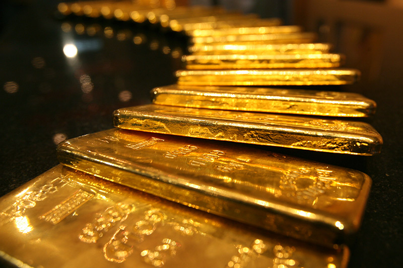 Gold Up, Hits Three-Month High as Chinese and U.S. Data Disappoint