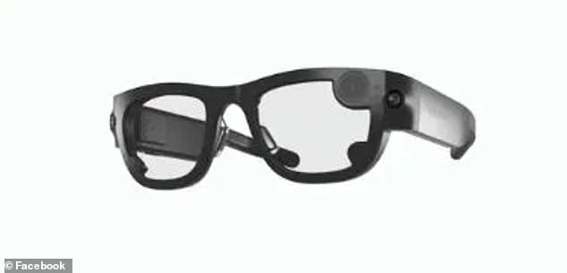 Facebook's Ray-Bans branded smart glasses are expected later this year. Bosworth said the company would need to have 'a very public discussion about the pros and cons' of adding facial recognition tools to the device
