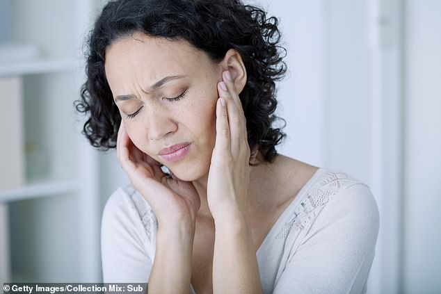 Hiccups, tinnitus and stammering are bizarre signs of Covid too, say doctors. What is now clear is that the virus can actually affect the body from head to toe (file photo)