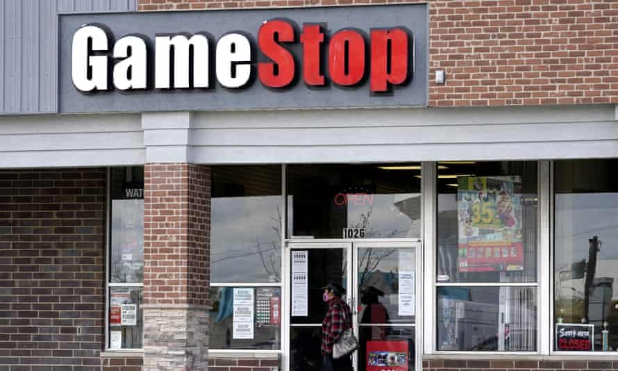 GameStop plans to close 450 stores this year.