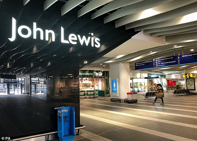 John Lewis said trading during Christmas and Black Friday 'held up better than anticipated'