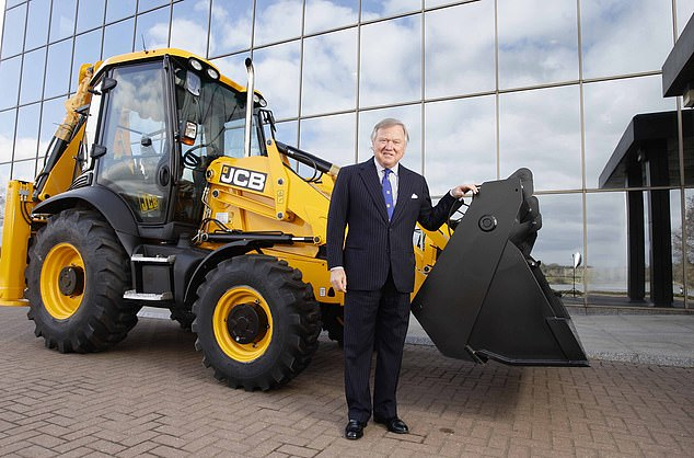 The wheels of industry: JCB chairman Lord Bamford says there has never been a better time for British companies to accelerate their efforts to grow exports – to Europe and further afield