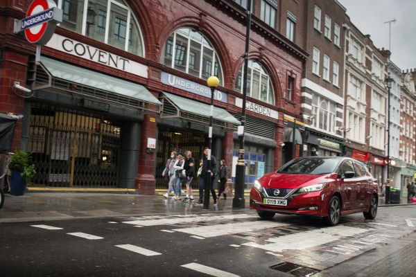 Nissan is the UK's most popular electric car and commercial vehicle brand