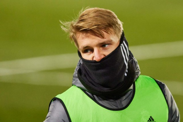Martin Odegaard has asked to leave Real Madrid