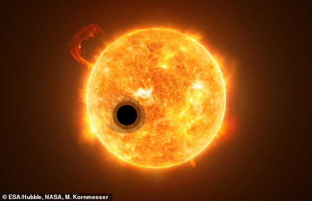 WASP-107b is very close to its star, WASP-107, with estimates suggesting the planet is over 16 times to its star than the Earth is to the Sun