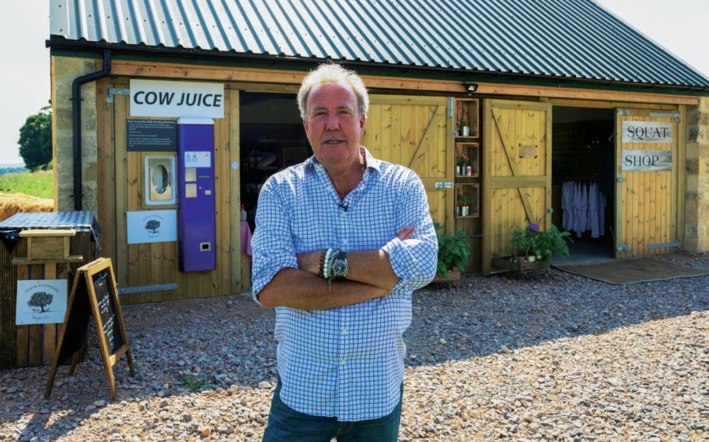 Jeremy Clarkson has turned his farm shop around, with a little help from his friends