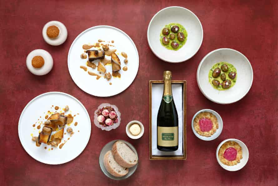 A Valentine's Day menu for two from Simon Rogan at Home.