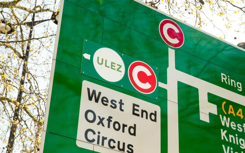 London ULEZ roll-out sees polluting car numbers fall by a quarter