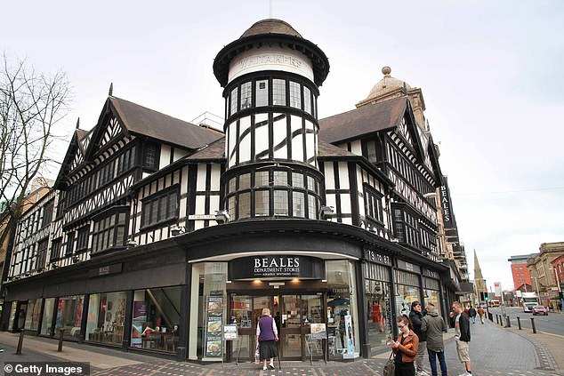 Gone: Department store chain Beales has closed down for good