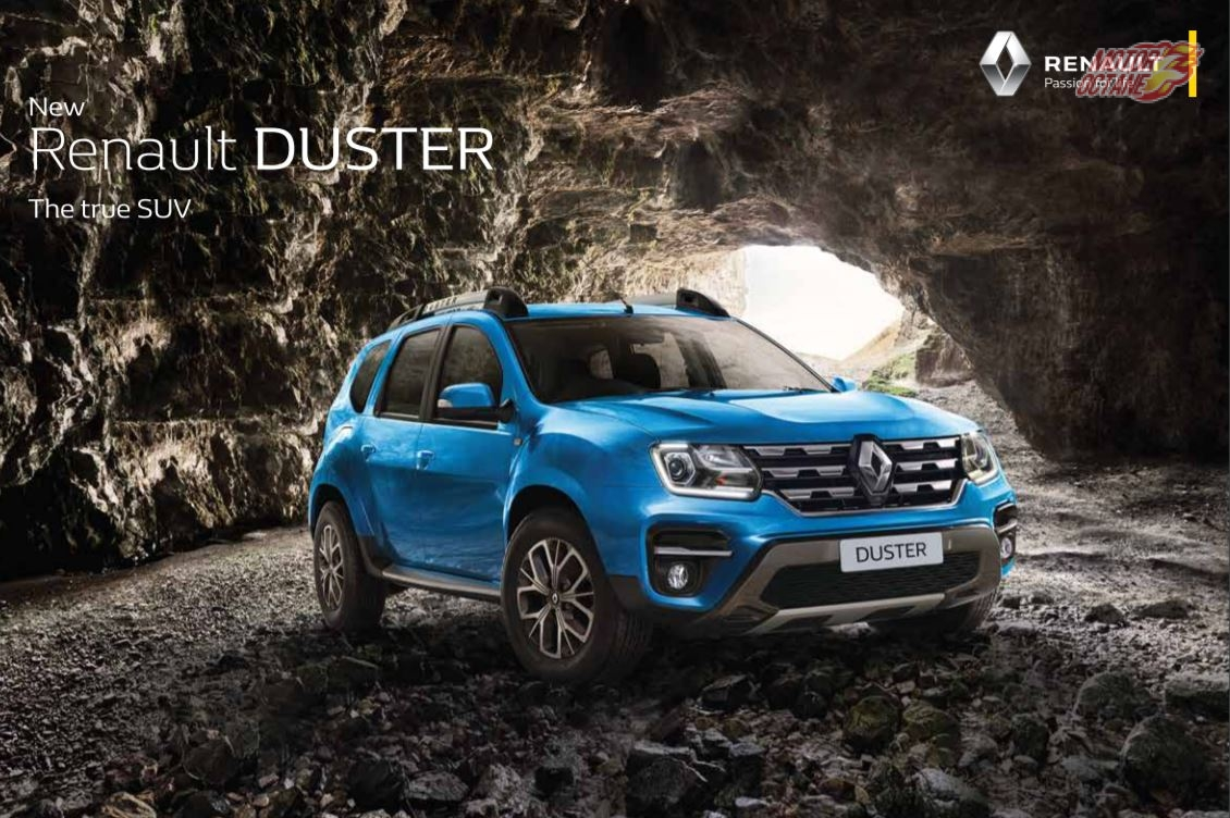 New Renault duster BS-VI