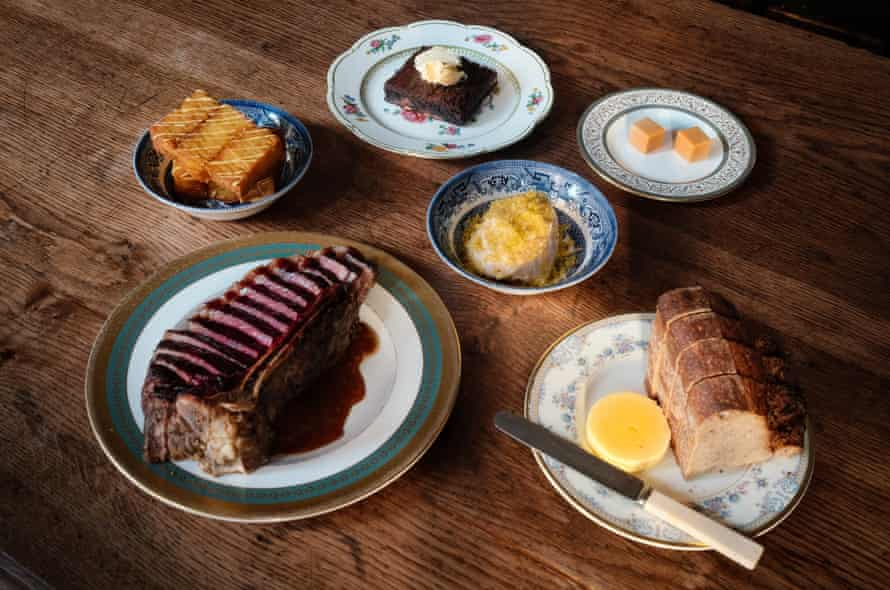 A selection of the Quality Chop House's home meal dishes.