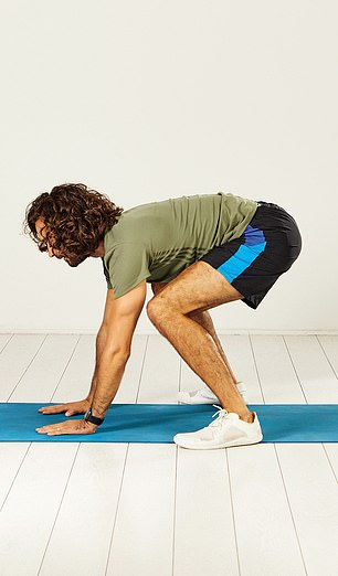 Lower your chest to the ground