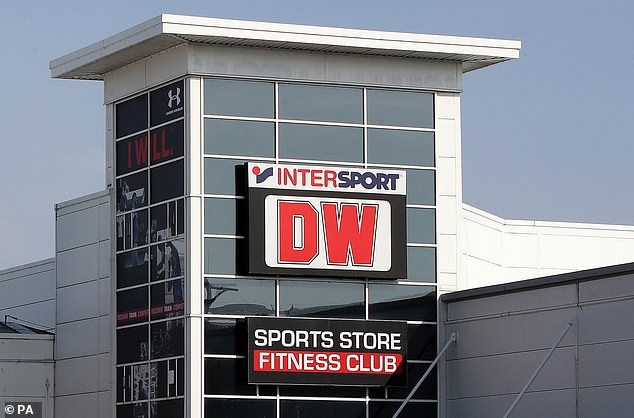 DW Sports was rescued byMike Ashley's Fraser Group, who dropped the brand name