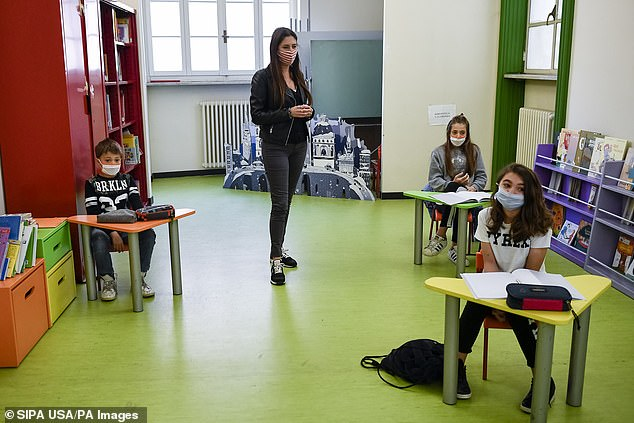 Close contacts among children in Reception and Year one ¿ aged between four and six ¿ dropped from 15 a day before Covid to seven, a reduction of 53 per cent.For older children, those in Year six and around 10 years old, the decrease was even sharper, down 62 per cent from 18 to seven