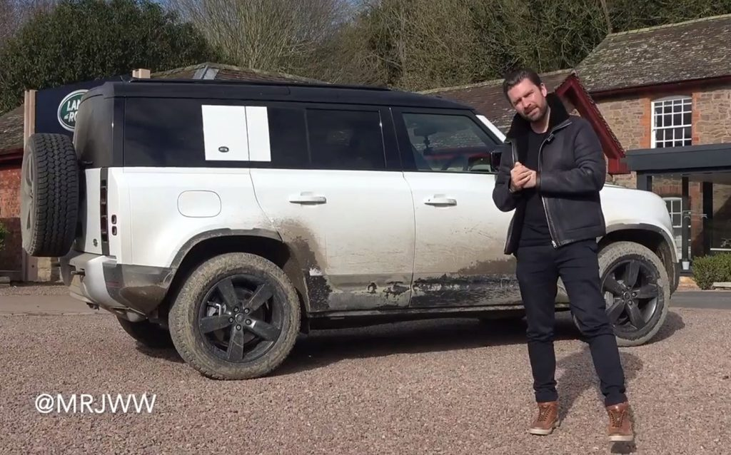 Mr JWW goes off-road with the all-new Land Rover Defender