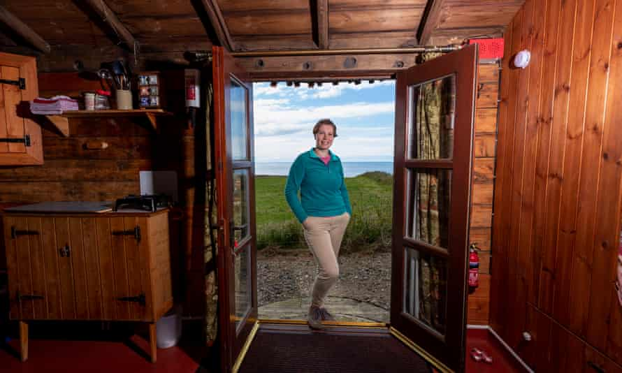Carole Short at the Coastal Carriage, Aberdeenshire