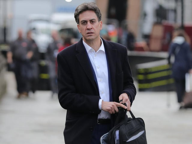 Labour's shadow business secretary Ed Miliband arrives at the Houses of Parliament in Westminster, London. Photo: PA
