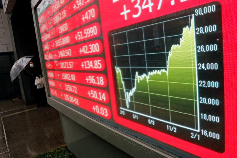 Asian stocks set to fall as Wall St slips on recovery doubts