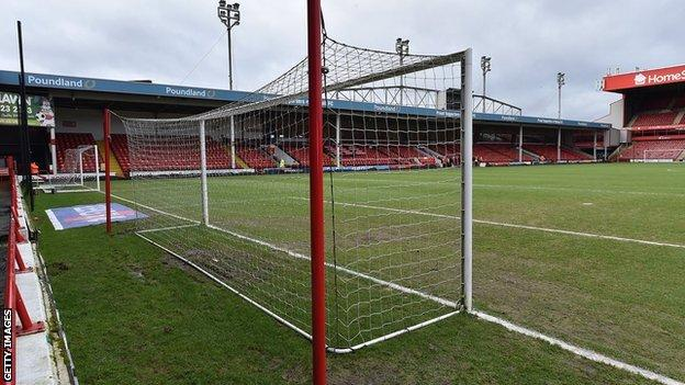 The Banks's Stadium has suffered two postponements in 24 hours following the loss of landlords Walsall's game the previous day