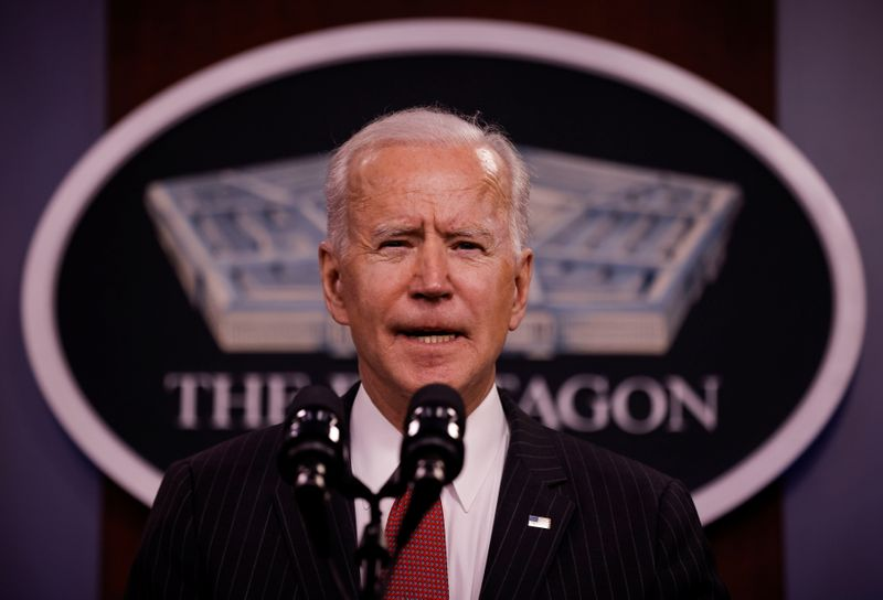 Biden to discuss pandemic, economy and China in Friday G7 meeting