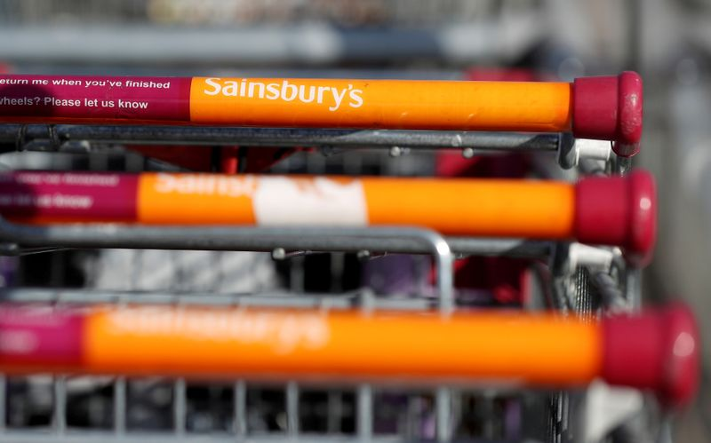 Britain's Sainsbury's gives staff third pandemic bonus
