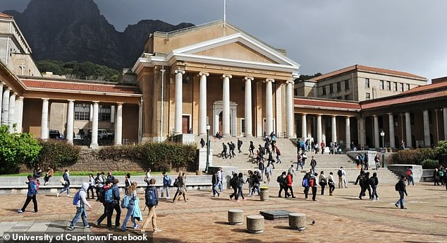 South Africa is beginning clinical trials of a vaccine developed by two biotechnology companies based in California. Their vaccine targets two parts of the virus: the spike protein, more prone to mutations and the nucleocapsid protein, which is less prone. Pictured: The University of Capetown, which will be conducting clinical trials