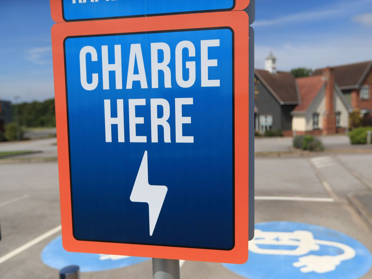 Engenie Electric Vehicle Rapid Charging Point