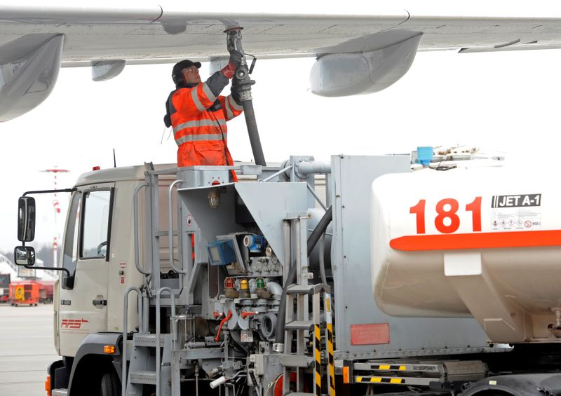 Cloudy outlook for stalled jet fuel demand recovery