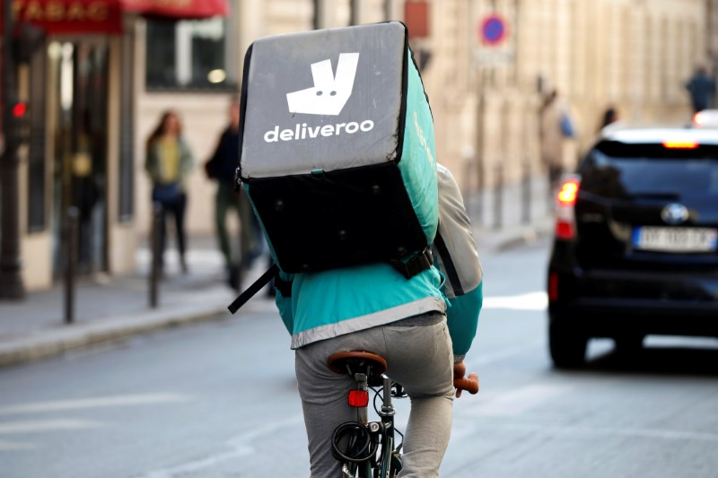 Goldman Sachs initiates Deliveroo with a 'buy' rating, sees 70% upside