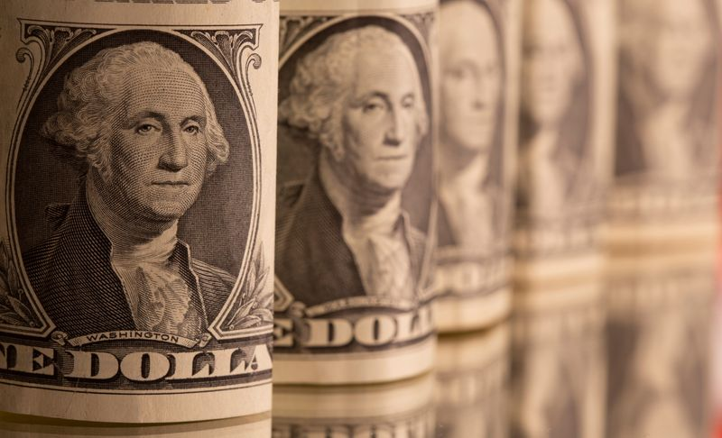 Dollar firms after U.S. yield spike; yen continues march lower