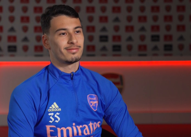 Gabriel Martinelli is working his way back to full fitness following several injury setbacks