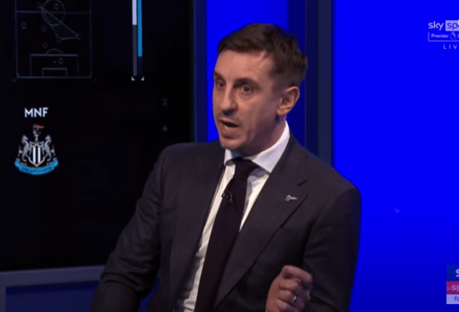 Gary Neville believes Manchester United's Victor Lindelof would thrive at Liverpool