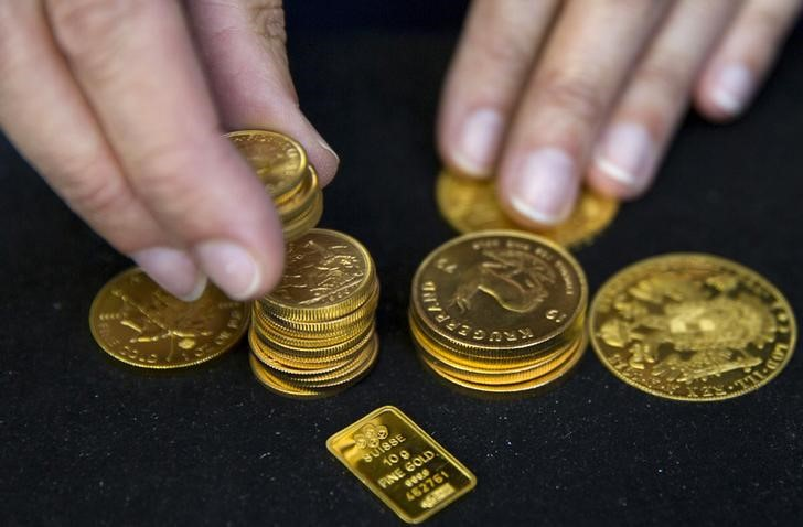 Gold Down, Dollar Up and Treasury Yields Rise Ahead of U.S. Inflation Data