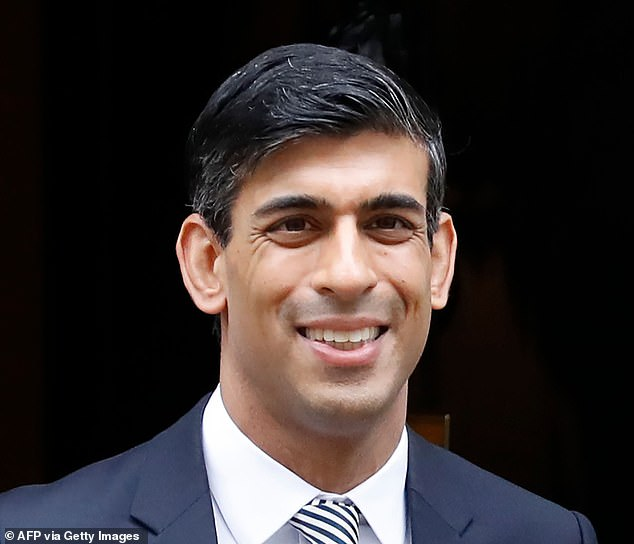Economic boost?: Inflation could be Chancellor Rishi Sunak's friend