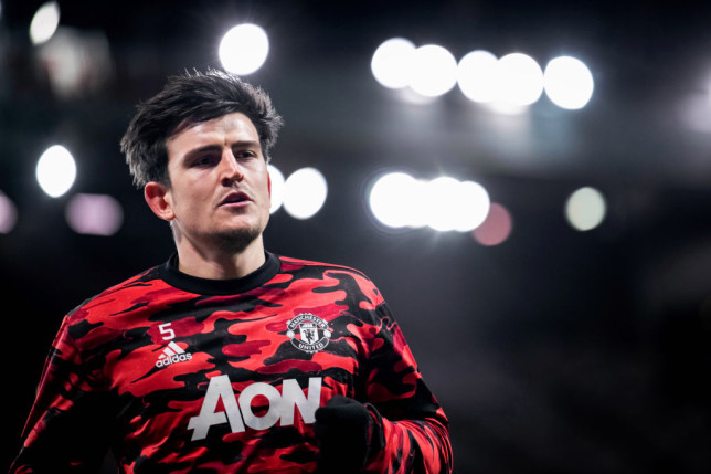 Harry Maguire and Mancehster United will look to end Thomas Tuchel's unbeaten start to his Chelsea tenure