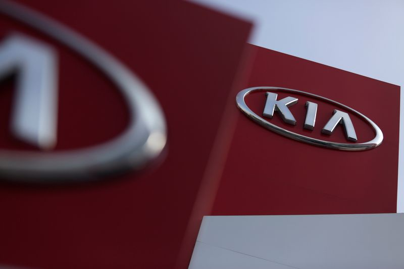 Kia shares up after online report of remaining potential for Apple partnership