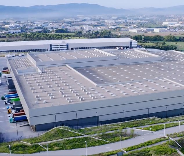 Mammoth: The retail warehouse near Barcelona owned by Tritax EuroBox
