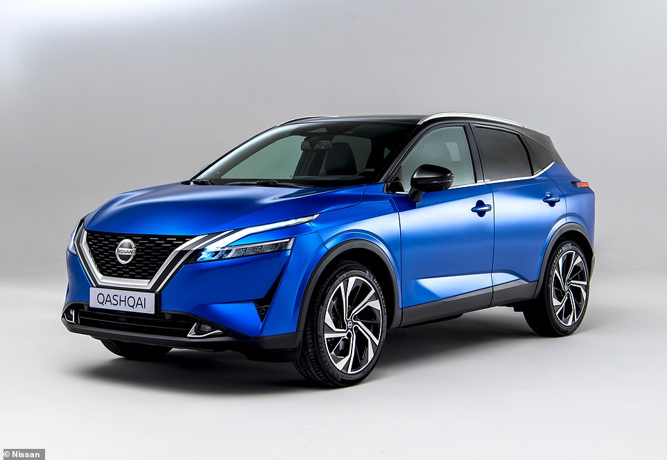 Built in Britain: This is the new-for-2021 Nissan Qashqai - the third-generation of the UK's best-selling SUV for a decade that will continue to be built in Sunderland